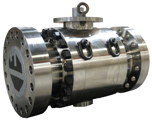 End Entry Severe service Ball Valve