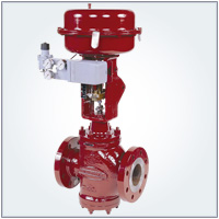 10000 Series Double-Seated Control Valve