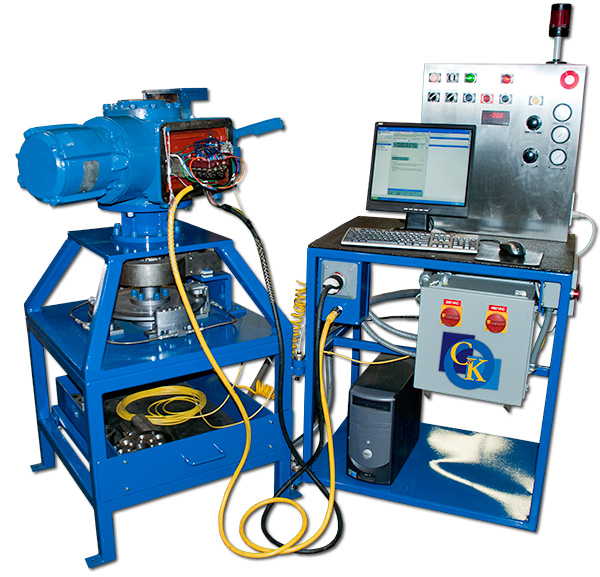 Actuator Torque Test Stand - Limitorque Factory certified Sales and Service