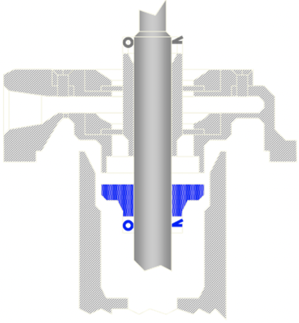 Consolidated 1700 Series Safety Valve Lift Stop