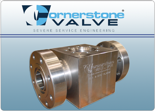 Cornerstone Severe Service Ball Valves