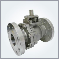 2 PC Reduced Bore Flanged End Ball Valve