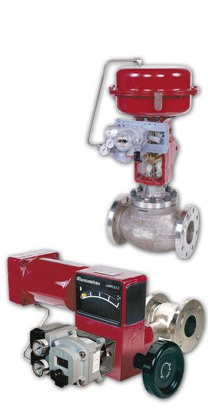 Control Valve repair and service including Masoneilan OEM parts and factory certified repairs