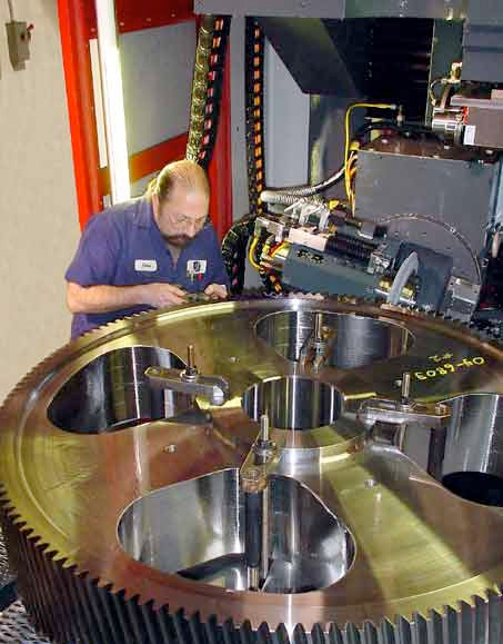 Gear repair and service of all sizes - Flender gear box Factory Service
