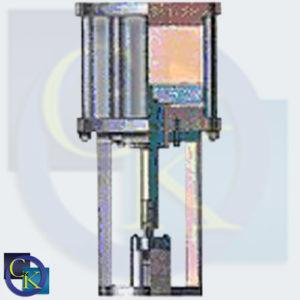 1200 Series Pneumatic Piston Actuator