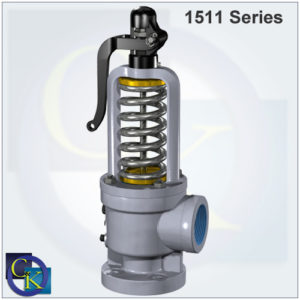Type 1511 Steam Safety Valve