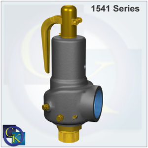 Type 1541/1543 Steam Safety Valve