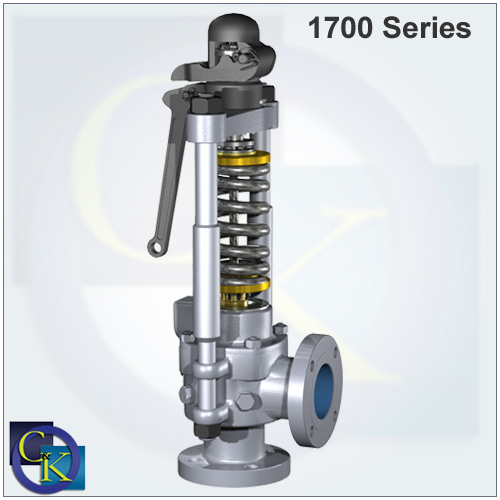 Consolidated Type 1700 Maxiflow Safety Valve