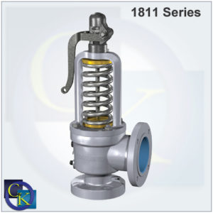 Type 1811 Steam Safety Valve