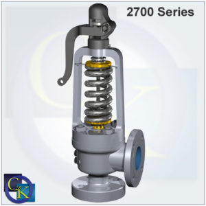 Type 2700 Steam Safety Valve