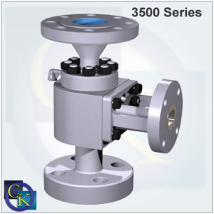 Type 3500 Electromatic Ball Valve
