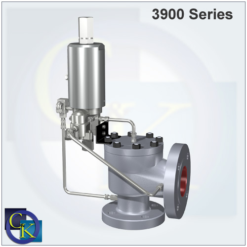 3900 Pilot-Operated Safety Relief Valve