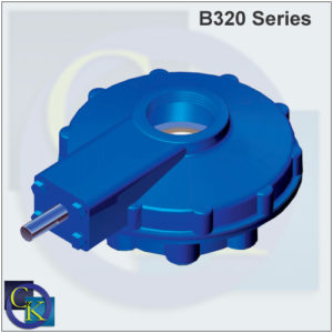 B320 Bevel Gearbox (Phasing Out – Replaced With V Series)