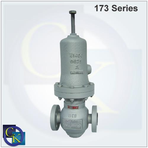 173 Series Back Pressure Regulators