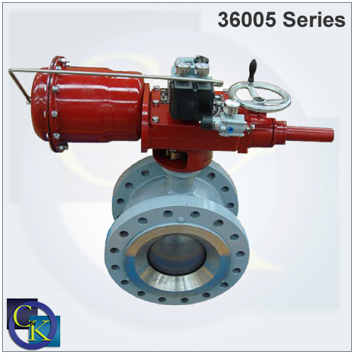 36005 V-Max High Capacity Control Ball Valve