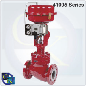 41005 Series Cage Guided Control Valve