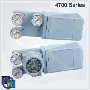 Model 4700P / 4700E Analog Valve Positioner