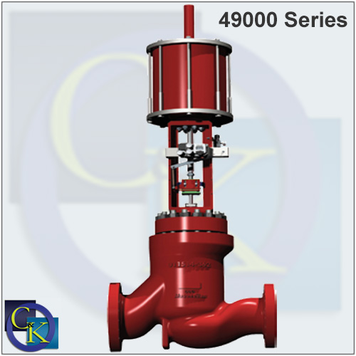 49000 Series V-LOG Low-Noise Anti-Cavitation Valve