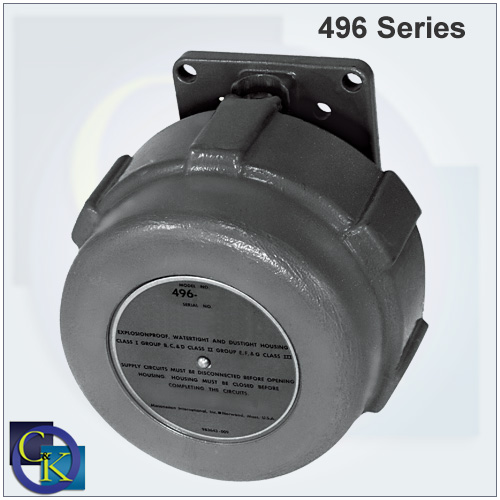 Masoneilan 496 Series Electric Rotary Switches