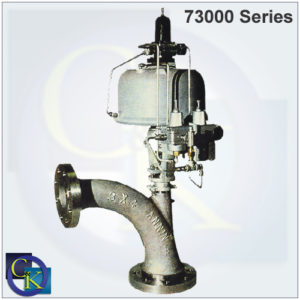 73000 Series Sweep Angle Valve