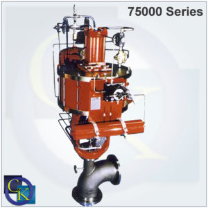 75000 Series Tank Drain Sweep Angle Valve