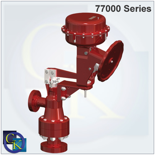 Masoneilan 77000 Series Multi-Stage High Pressure Valve