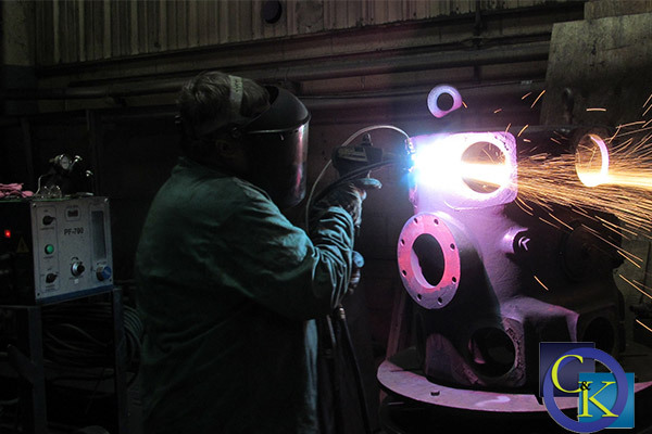 Plasma Arc Thermal Spray Bore Repair