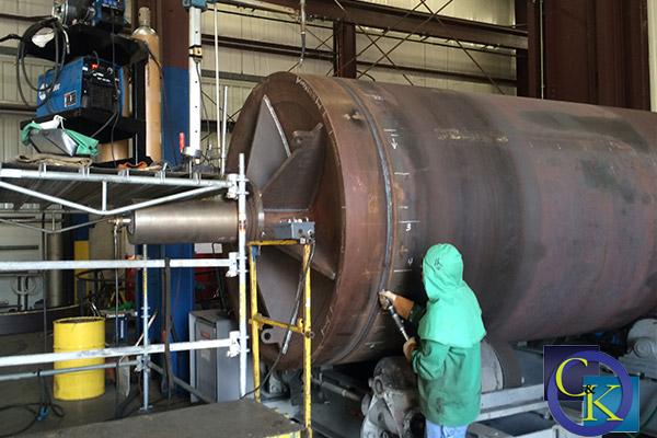 Steam Dryer Fabrication