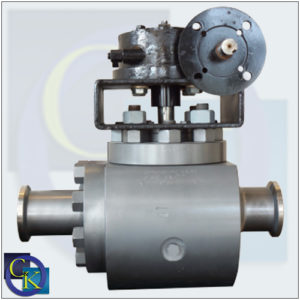 Cornerstone TE-2 Top Entry, Two Piece Body Trunnion Ball Valve