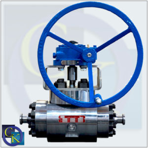Cornerstone TE-3 Top Entry, Three Piece Body Trunnion Ball Valve