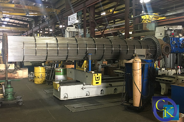 Tube Bundling Machine at Chalmers & Kubeck