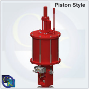 Pneumatic Piston Actuators